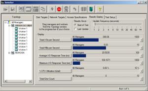 Iometer running on Linux