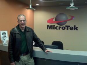 Greg Porter at Microtek